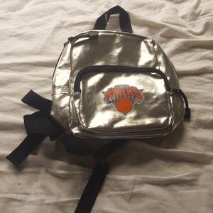 Vintage Metallic New York Knicks Bag